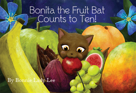 slide 1 Bonita the Fruit Bat Counts to Ten